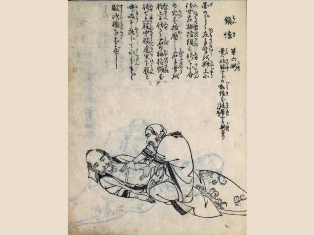 Lo Shiatsu deriva dall'Anpuku