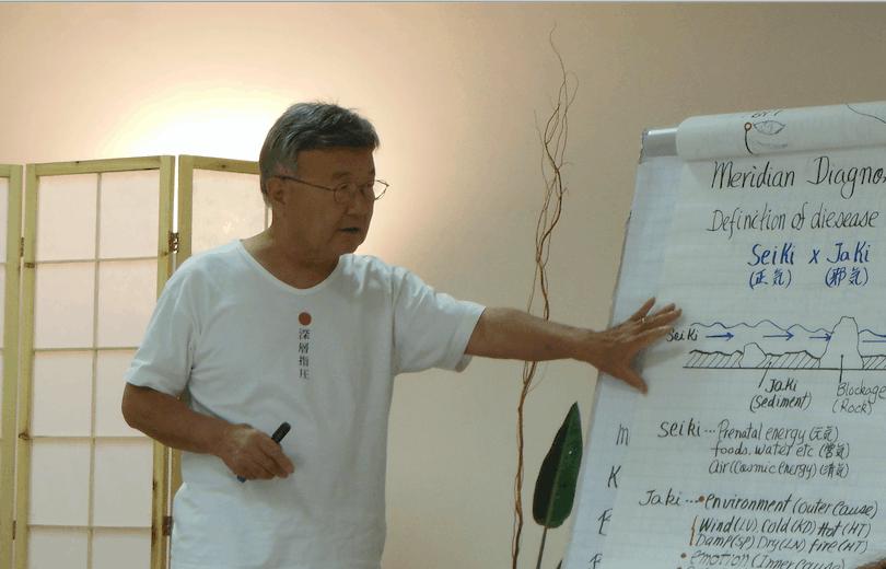Tetsuro Saito, Shin So Shiatsu workshop